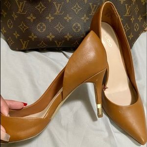 Aldo pump heels shoes // size 7 //  used once